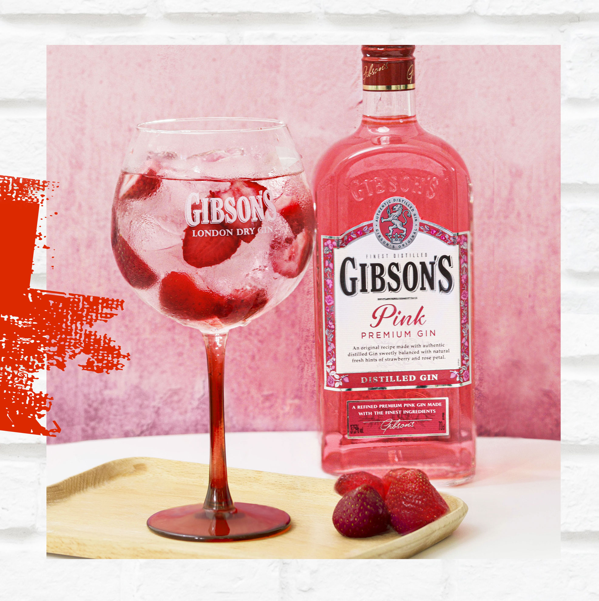 Gibsons Pink